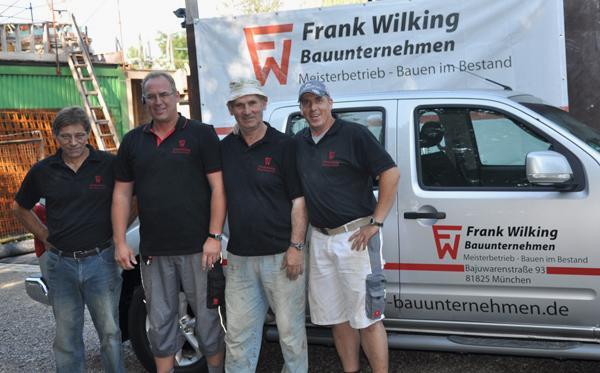Baufirmen München frank wilking bauunternehmen